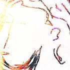 abstract/female head -(200112)- ms paint/multi-media by paulramnora