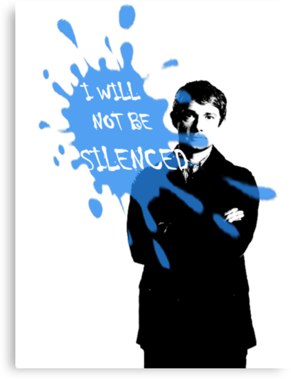 I Will Not Be Silenced - John - BBC Sherlock by cyaxares