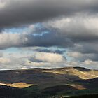 Patchy Sunlight, Bleaklow, Glossop by Mark Smitham