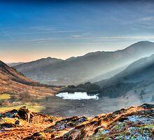 Langdale Tarn by David John Atkinson