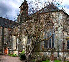 Mid Calder Parish Church by Tom Gomez