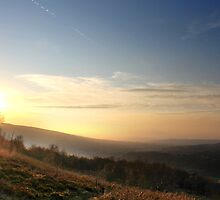 Misty Sunset, Glossop by Mark Smitham