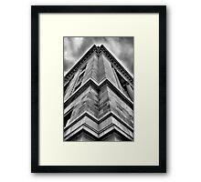 Sharp Framed Print