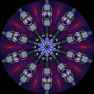 Geometric kaleidoscope 05 by fantasytripp