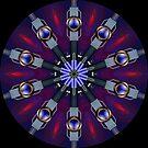 Geometric kaleidoscope 05 by fantasytripp