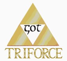 GOT TRIFORCE by Lochie Laffin Vines