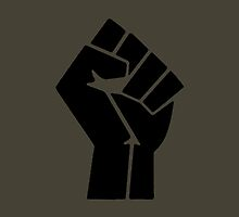 Power to the People Fist by Mitchthe