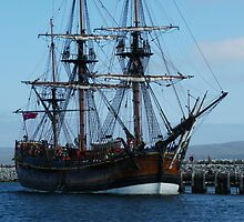 Endeavour in Albany harbour #3 by BigAndRed
