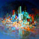 SYDNEY HARBOUR NIGHT LIFE by Giro Tavitian