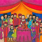 Indian Wedding by Laura Hutton