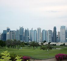 Golf in Dubai  by sylvianik
