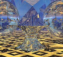 Karina's Alien Ale Globes by Sazzart