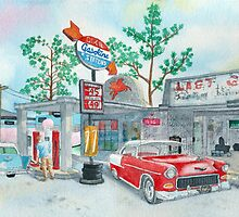 1950's Chevrolets by Yvonne Carter