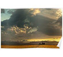 Sunset and Turmoil Poster