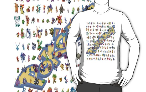 pokemon allstars shirt by kamoore83