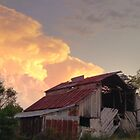 Sunset Barn by DonCondley