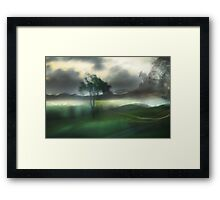 Road to Hell Series: I lost you tomorrow Framed Print