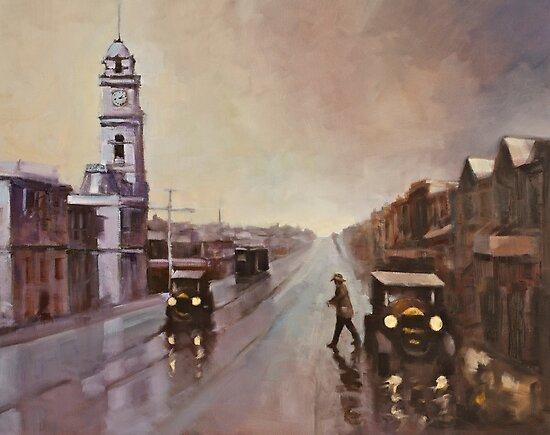Ryrie Street, Geelong by Mick Kupresanin