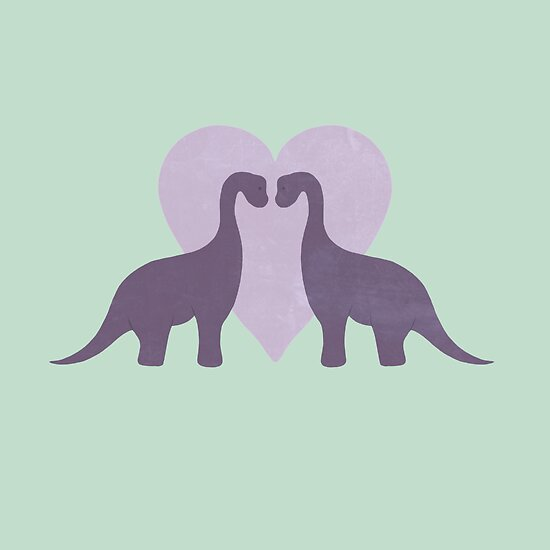 Prehistoric Love sans text by perdita00