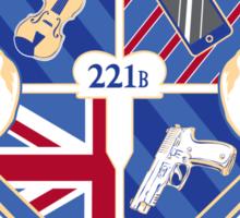 Sherlock's School of Deduction Sticker