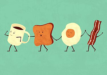 Let&#x27;s All Go And Have Breakfast by Teo Zirinis
