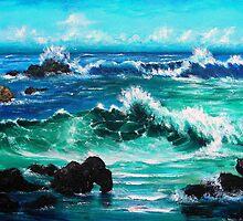 Breaking Waves by JamesLee