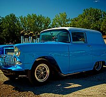 1955 Chevrolet Panel Wagon Shorty Dragster by TeeMack