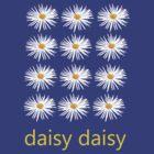 daisy daisy t-shirt by John Kelly