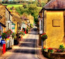 Pateley Bridge - Orton Effect by Colin  Williams Photography