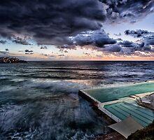 Bondi Icebergs  by Adriano Carrideo