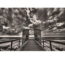 to the bridge Photographic Print
