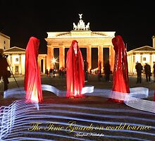 Festival of Lights  Berlin - Time guards by Manfred Kielnhofer by kielnhofer