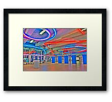 Night Travelers Framed Print