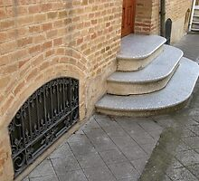 Steps in Colonia Güell by Bug's World
