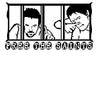 Free The Saints - Black - by Tracey Gurney