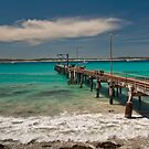 Vivonne Bay Jetty by Werner Padarin