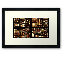 On The Blocks Framed Print