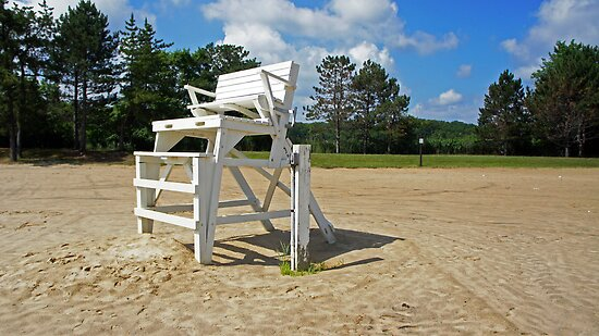 Lifeguard Stand by Jessica Liatys
