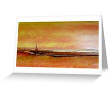 As far as the eye can see..... Greeting Card