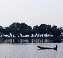 Paddling on the Hoan Kiem by JLCampbell