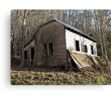 Jackie's House, Another Angle Canvas Print