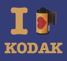 I LOVE KODAK by bomdesignz