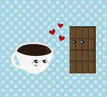 Coffee & Chocolate Love  by runninragged