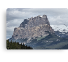 So Majestic - Castle Mountain Canvas Print