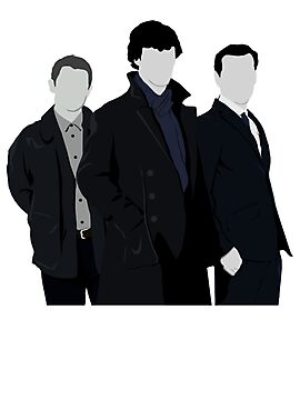 Sherlock,John and Jim by drawingdream