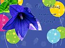 Baby Boy Congratulations Card - Balloons by MotherNature