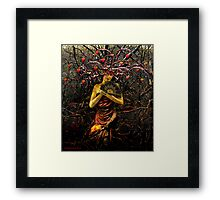 THE EMPRESS (tarot card) Framed Print