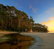 Bruny Island sunrise at Quiet Corner HDR - Tasmania, Austalia by PC1134