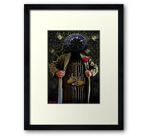 THE PRISONER OF TIME Framed Print