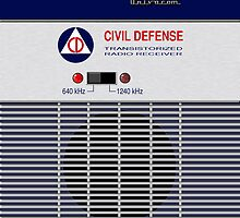 Civil Defense Radio by ubiquitoid